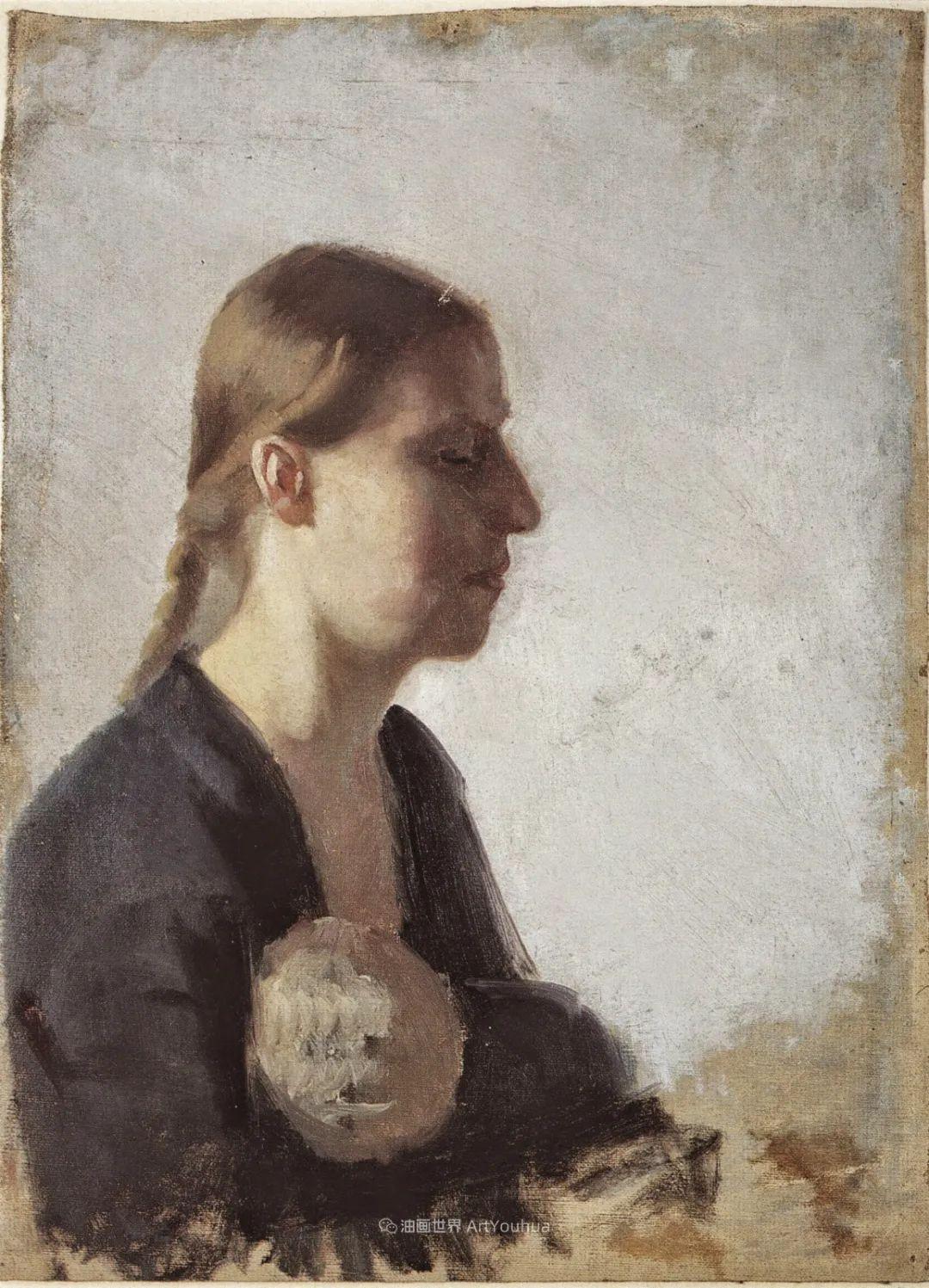 她被印在丹麦最大面值钞票1000克朗上,是丹麦最伟大的艺术家之一插图89