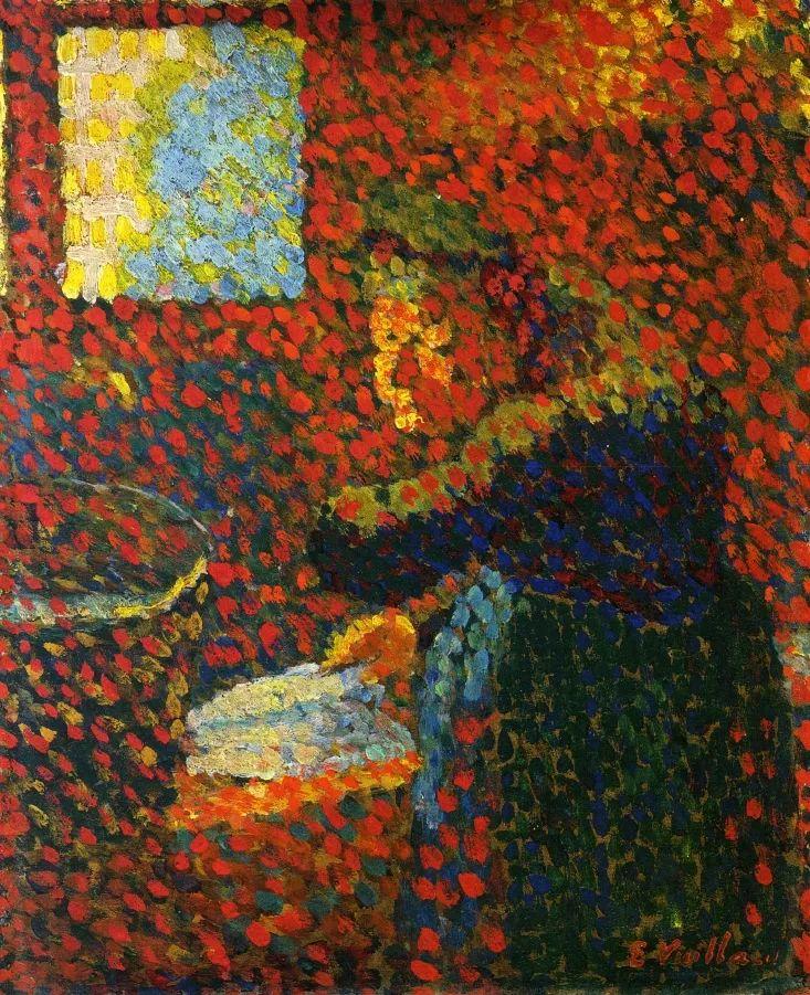 内景主义创始人,法国画家爱德华·维亚尔插图1