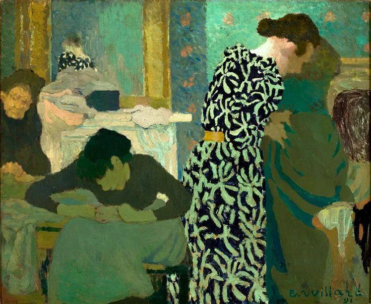 内景主义创始人,法国画家爱德华·维亚尔插图3