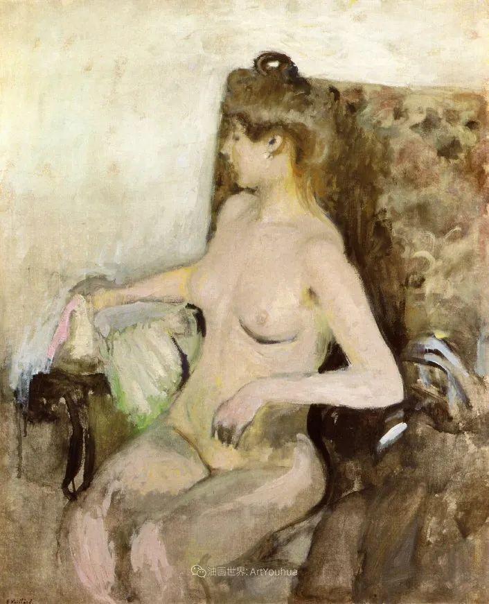 内景主义创始人,法国画家爱德华·维亚尔插图11