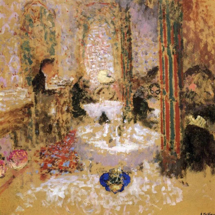 内景主义创始人,法国画家爱德华·维亚尔插图13