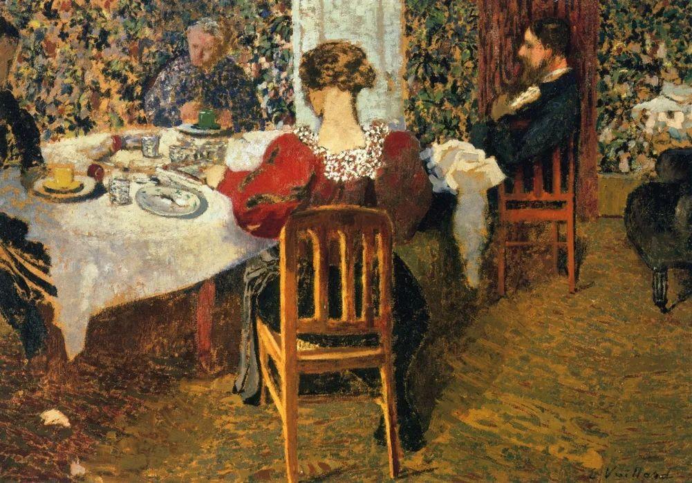 内景主义创始人,法国画家爱德华·维亚尔插图15