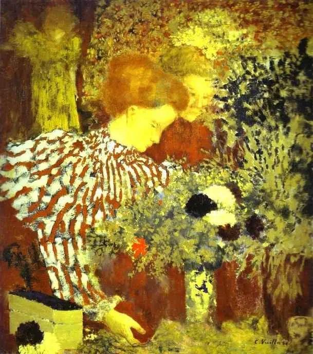 内景主义创始人,法国画家爱德华·维亚尔插图19