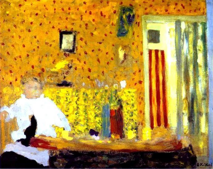 内景主义创始人,法国画家爱德华·维亚尔插图21