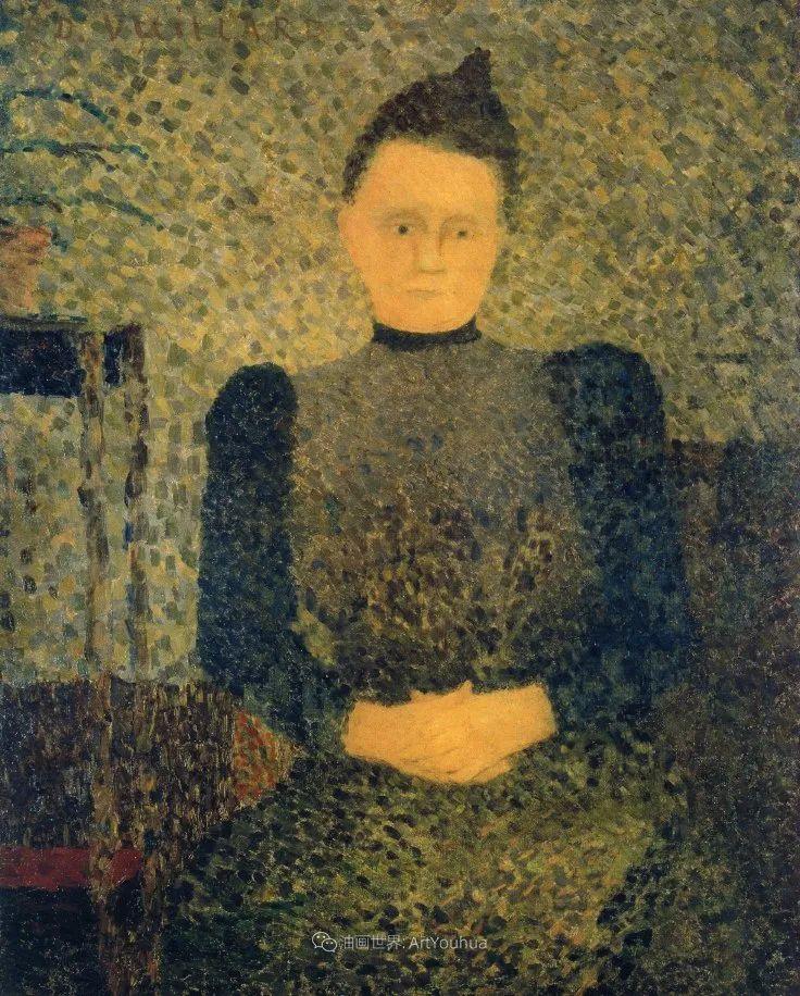 内景主义创始人,法国画家爱德华·维亚尔插图33