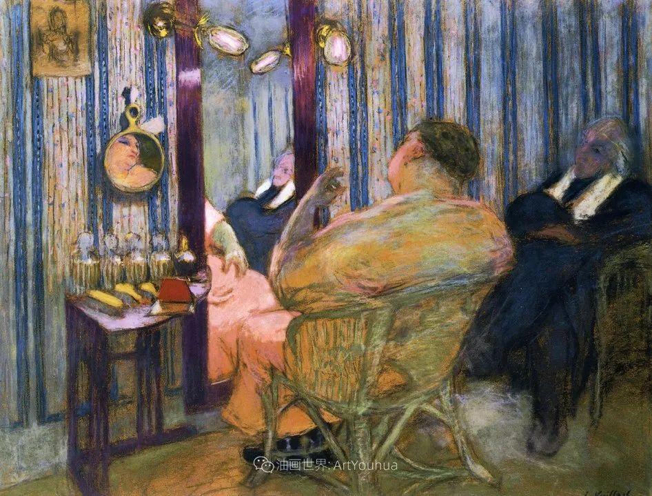 内景主义创始人,法国画家爱德华·维亚尔插图37
