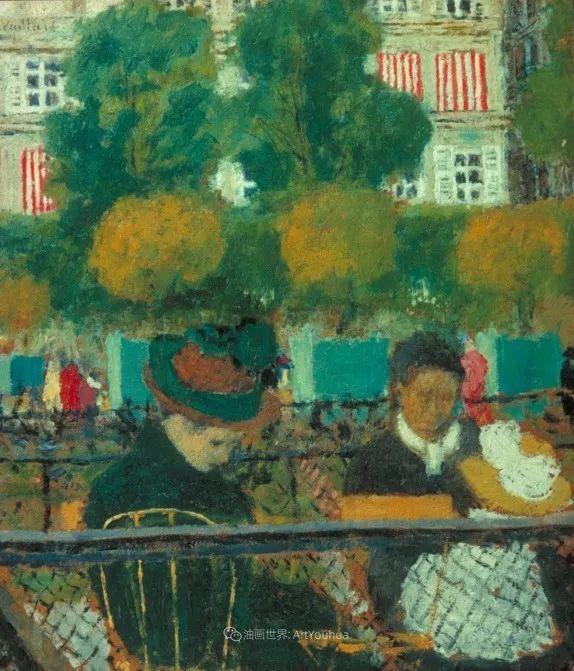 内景主义创始人,法国画家爱德华·维亚尔插图43