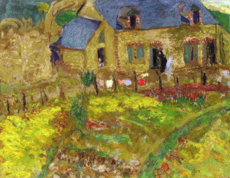 内景主义创始人,法国画家爱德华·维亚尔插图49