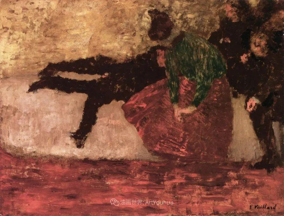 内景主义创始人,法国画家爱德华·维亚尔插图55
