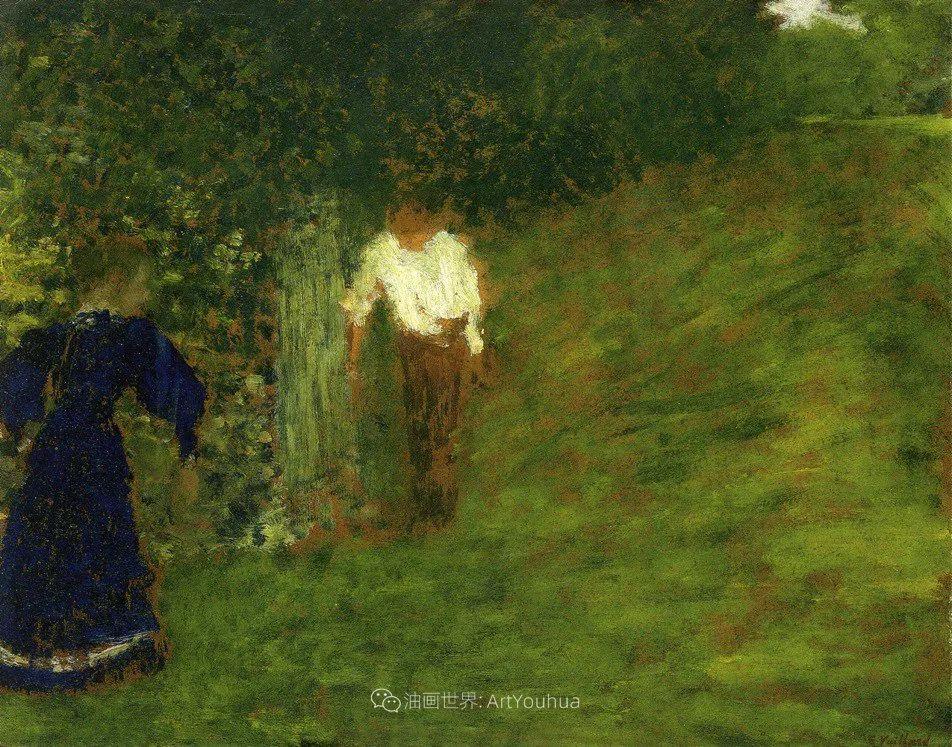 内景主义创始人,法国画家爱德华·维亚尔插图59