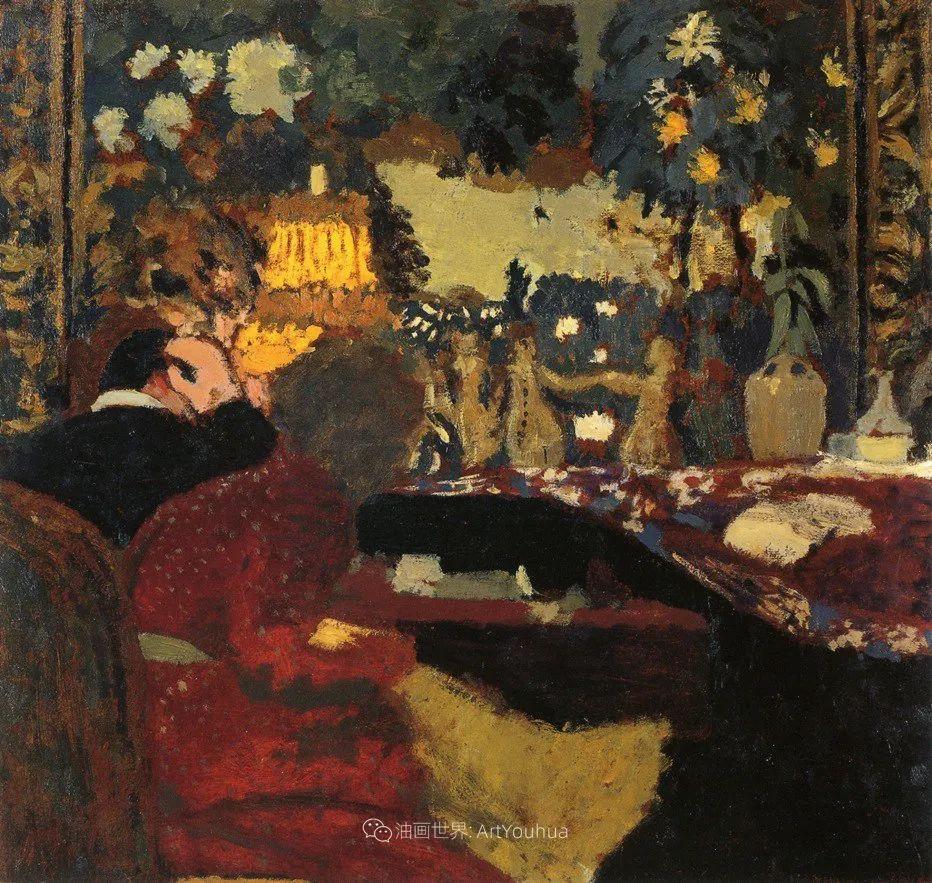 内景主义创始人,法国画家爱德华·维亚尔插图61