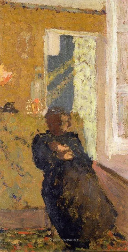 内景主义创始人,法国画家爱德华·维亚尔插图63