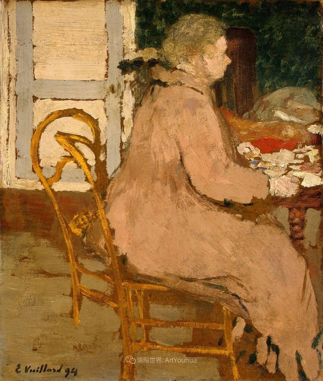 内景主义创始人,法国画家爱德华·维亚尔插图65