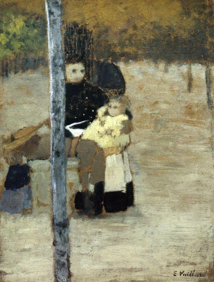 内景主义创始人,法国画家爱德华·维亚尔插图67