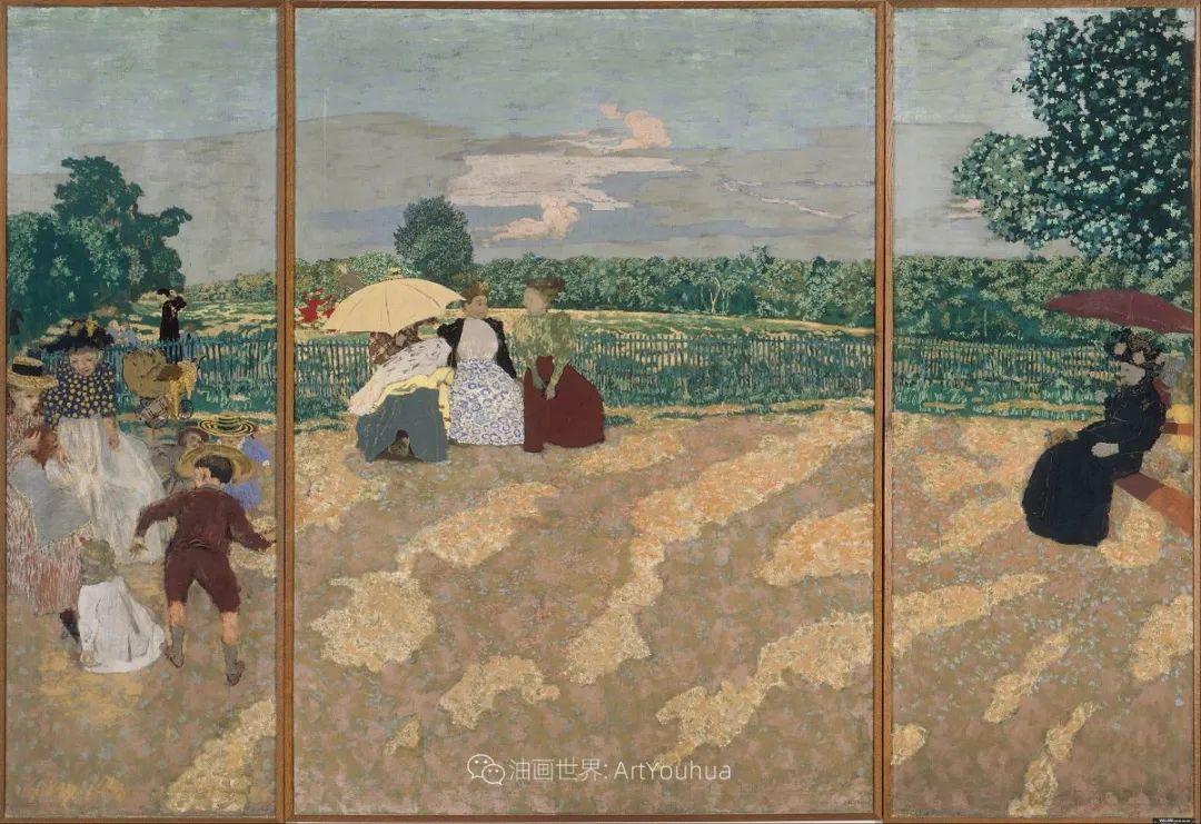 内景主义创始人,法国画家爱德华·维亚尔插图69