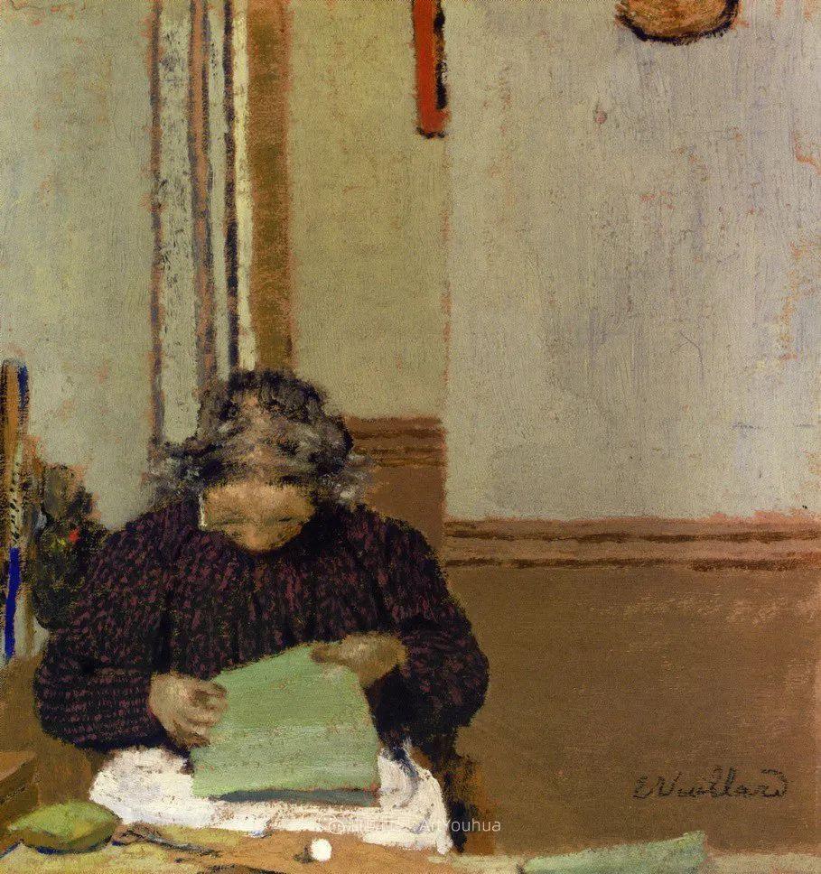 内景主义创始人,法国画家爱德华·维亚尔插图71