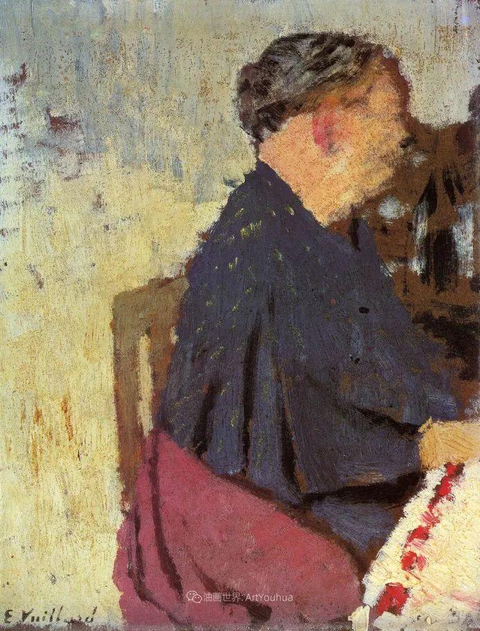 内景主义创始人,法国画家爱德华·维亚尔插图73