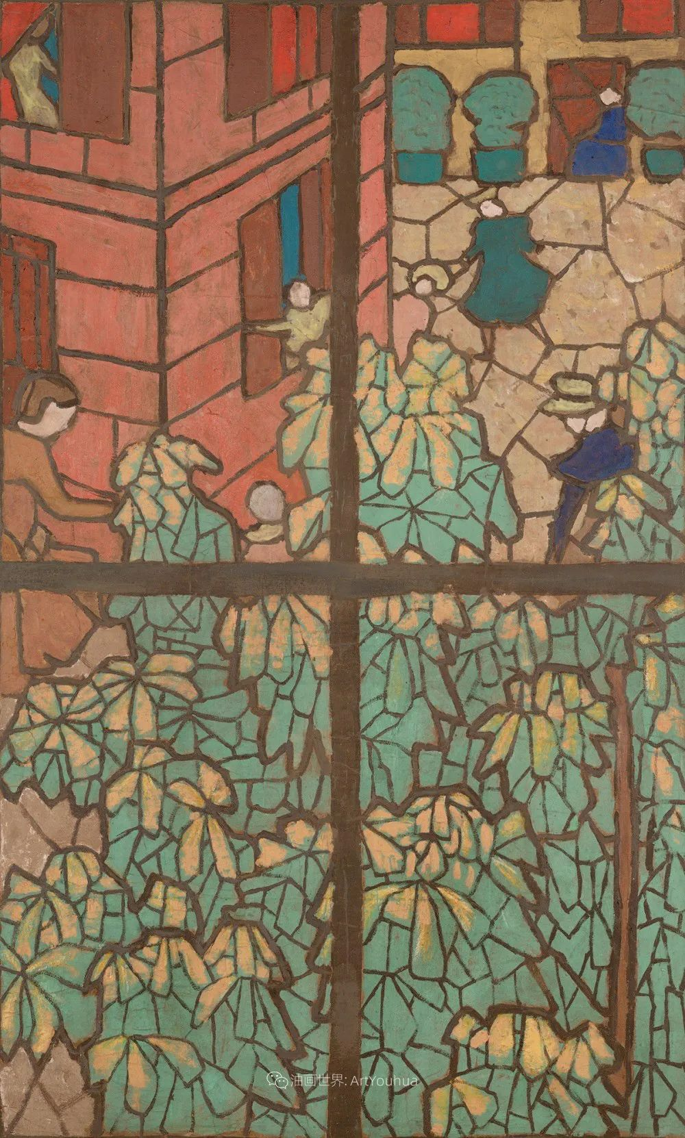 内景主义创始人,法国画家爱德华·维亚尔插图75