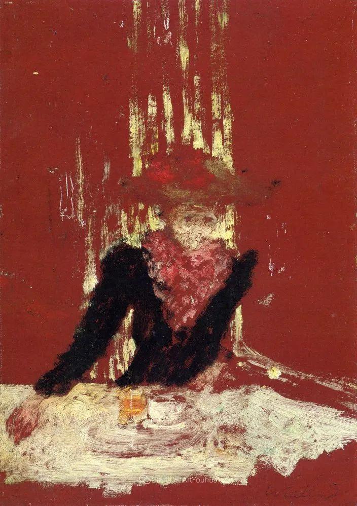 内景主义创始人,法国画家爱德华·维亚尔插图77
