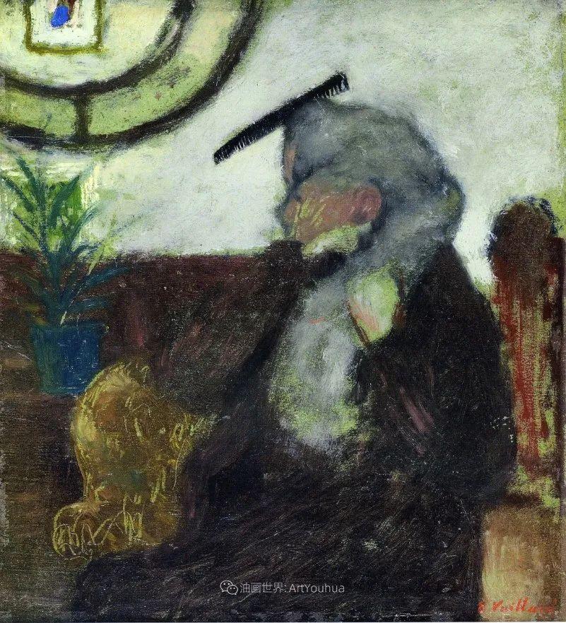 内景主义创始人,法国画家爱德华·维亚尔插图83