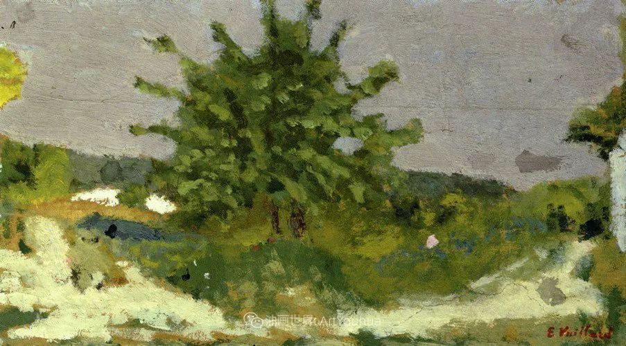 内景主义创始人,法国画家爱德华·维亚尔插图85