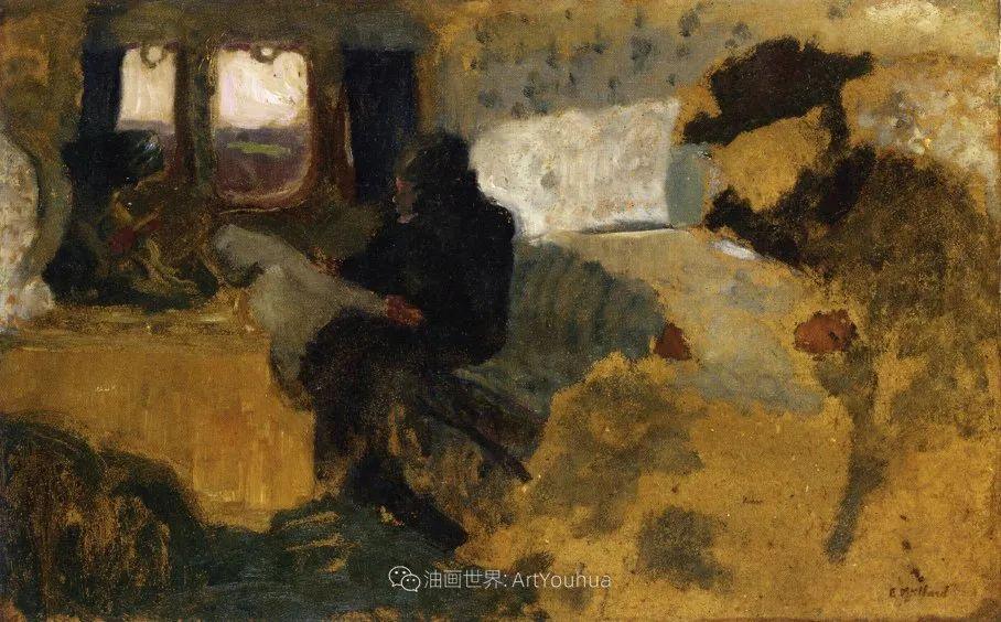 内景主义创始人,法国画家爱德华·维亚尔插图89
