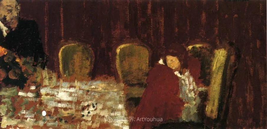 内景主义创始人,法国画家爱德华·维亚尔插图93