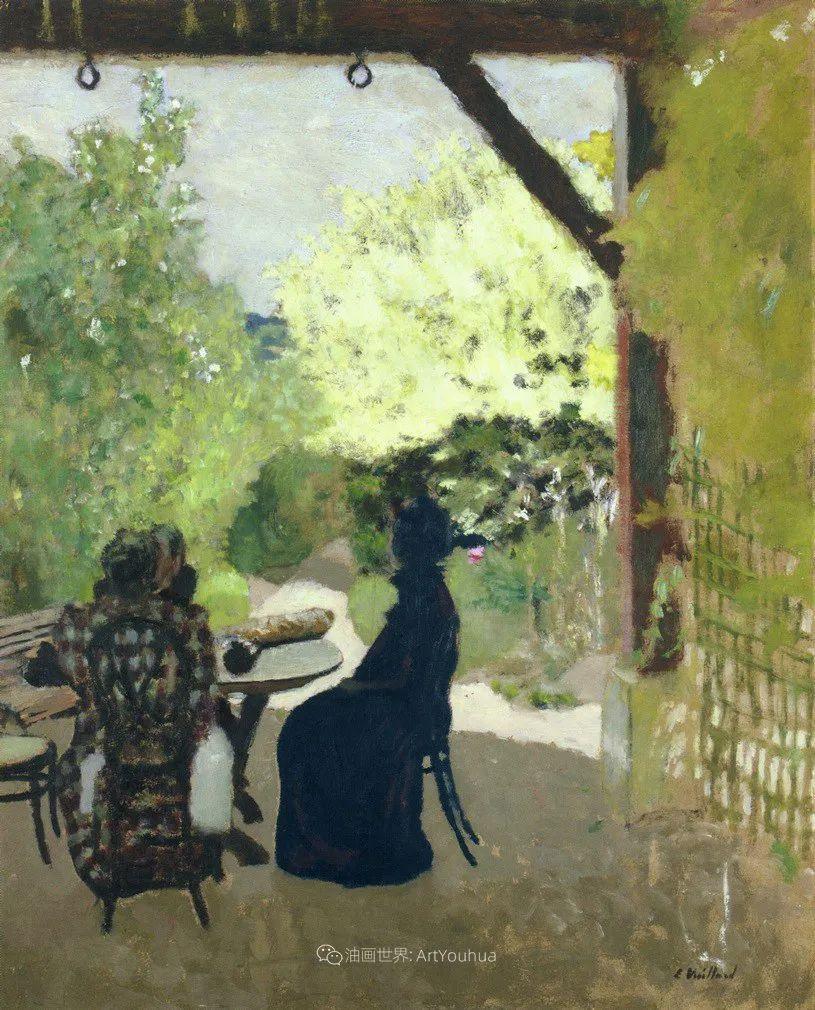 内景主义创始人,法国画家爱德华·维亚尔插图95