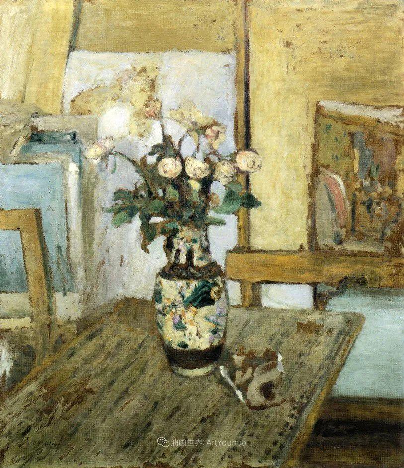 内景主义创始人,法国画家爱德华·维亚尔插图103