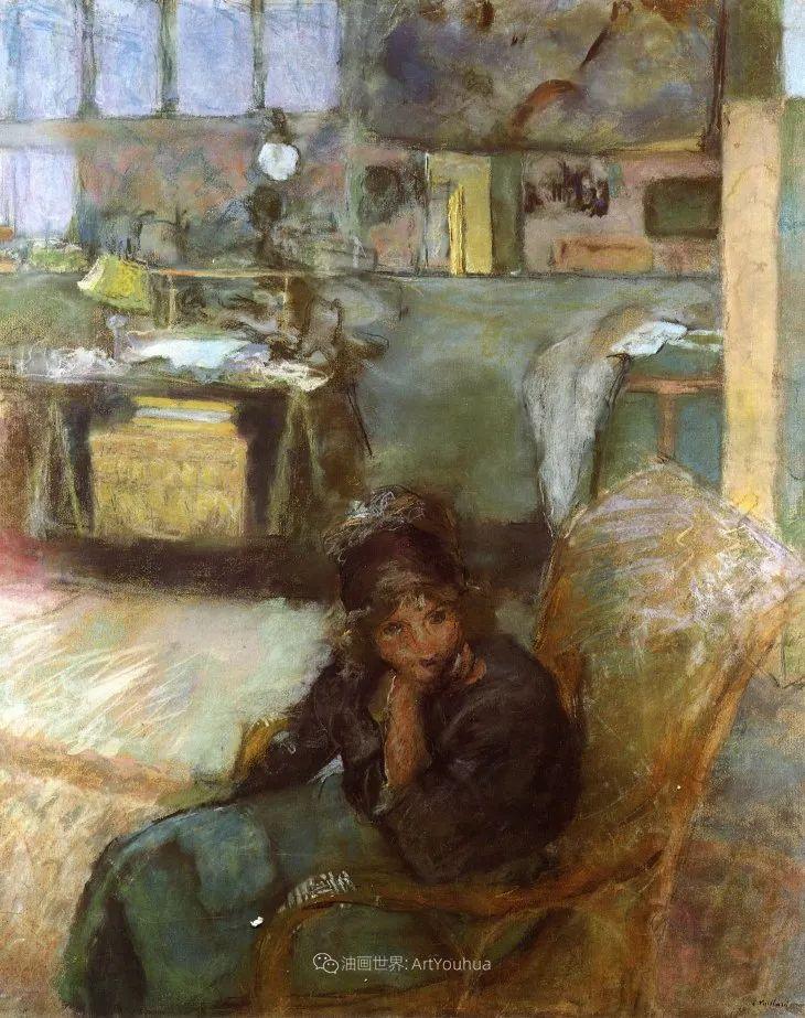 内景主义创始人,法国画家爱德华·维亚尔插图113