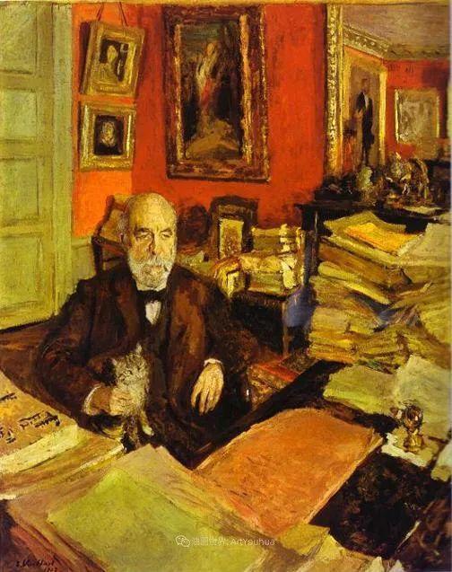 内景主义创始人,法国画家爱德华·维亚尔插图115