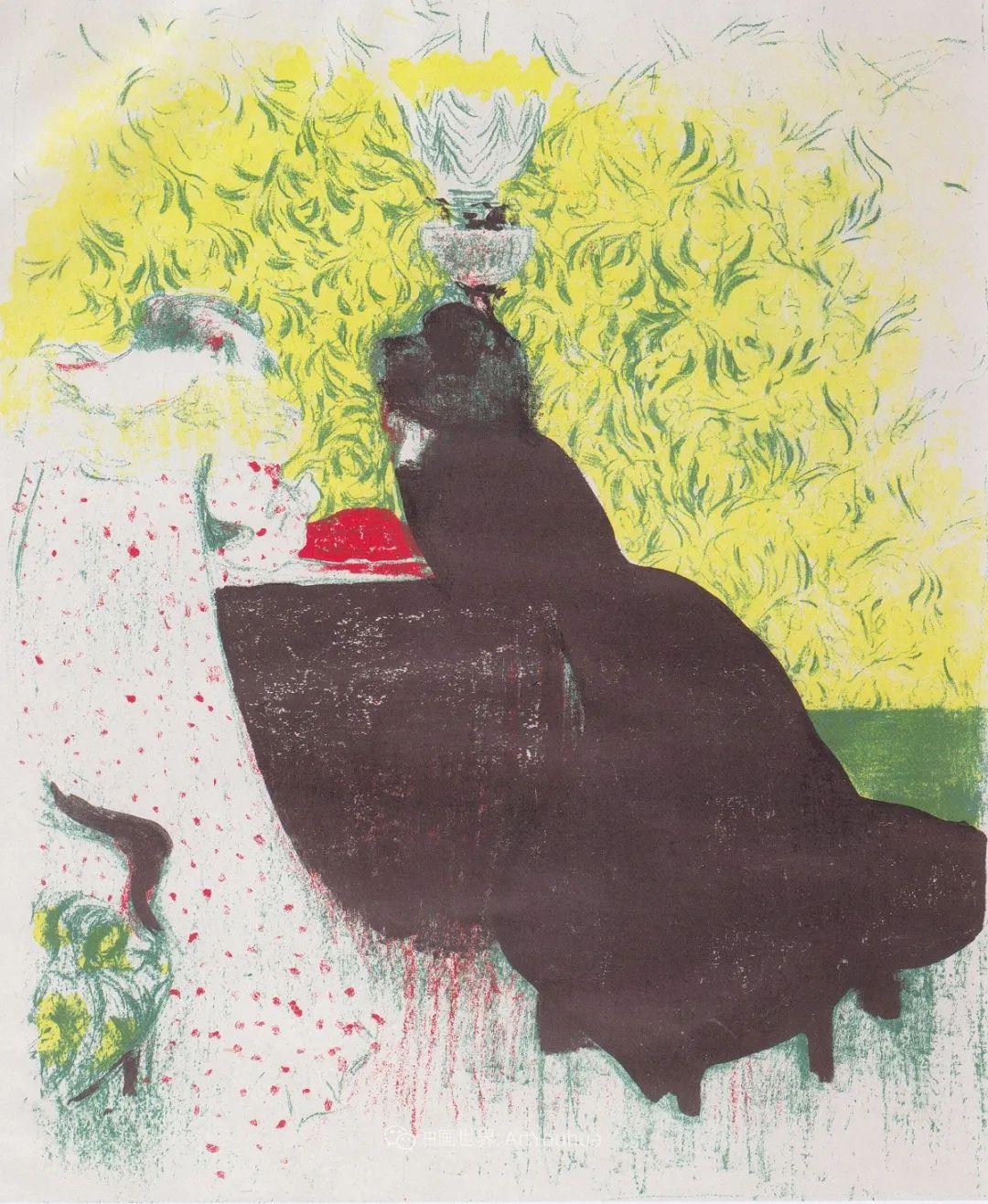 内景主义创始人,法国画家爱德华·维亚尔插图119