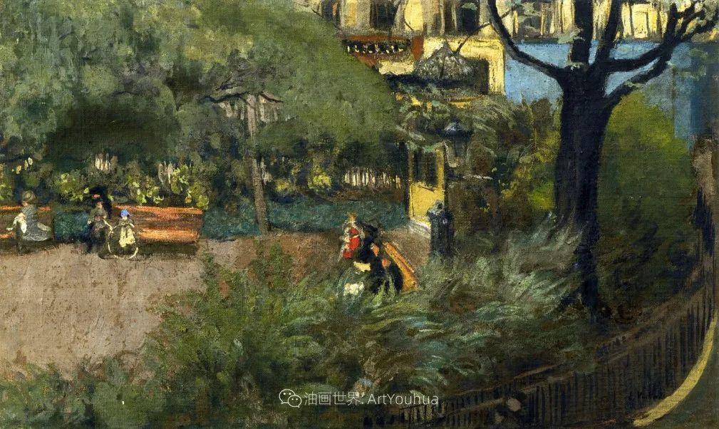 内景主义创始人,法国画家爱德华·维亚尔插图127