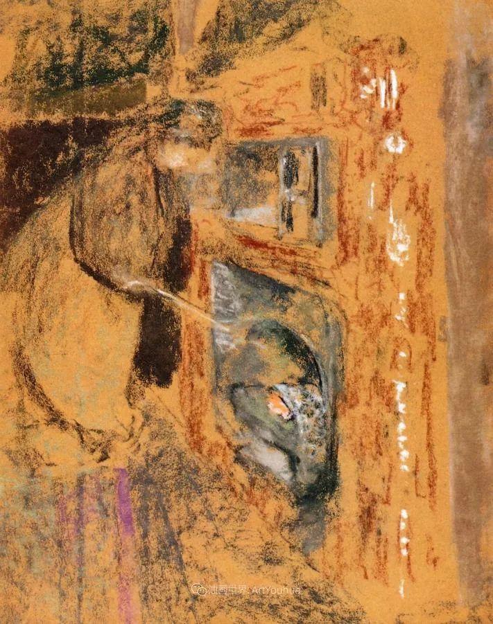 内景主义创始人,法国画家爱德华·维亚尔插图129