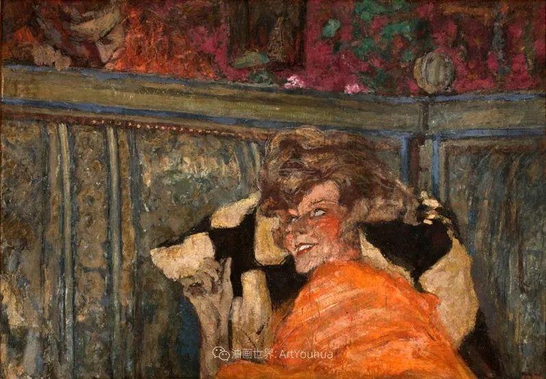 内景主义创始人,法国画家爱德华·维亚尔插图133