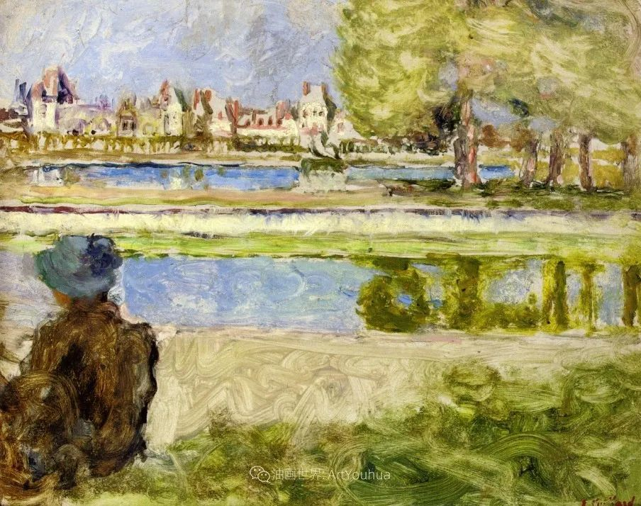 内景主义创始人,法国画家爱德华·维亚尔插图135