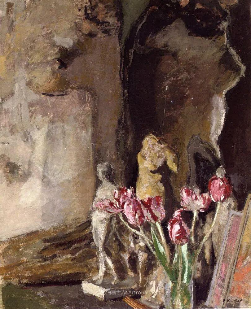 内景主义创始人,法国画家爱德华·维亚尔插图139