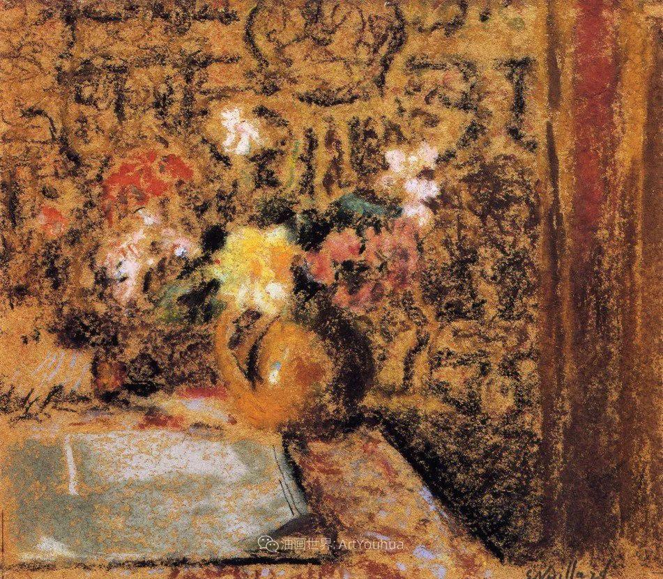 内景主义创始人,法国画家爱德华·维亚尔插图145