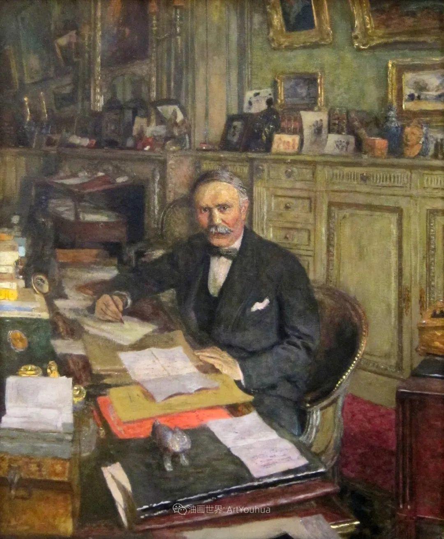 内景主义创始人,法国画家爱德华·维亚尔插图147