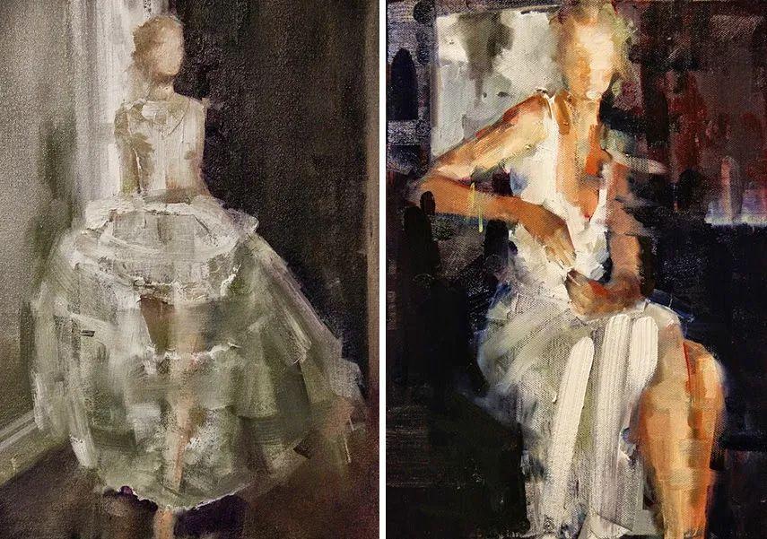 以生动、动感和现代的笔触,描绘女性身体!插图41