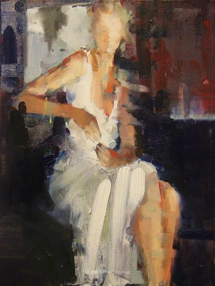 以生动、动感和现代的笔触,描绘女性身体!插图45