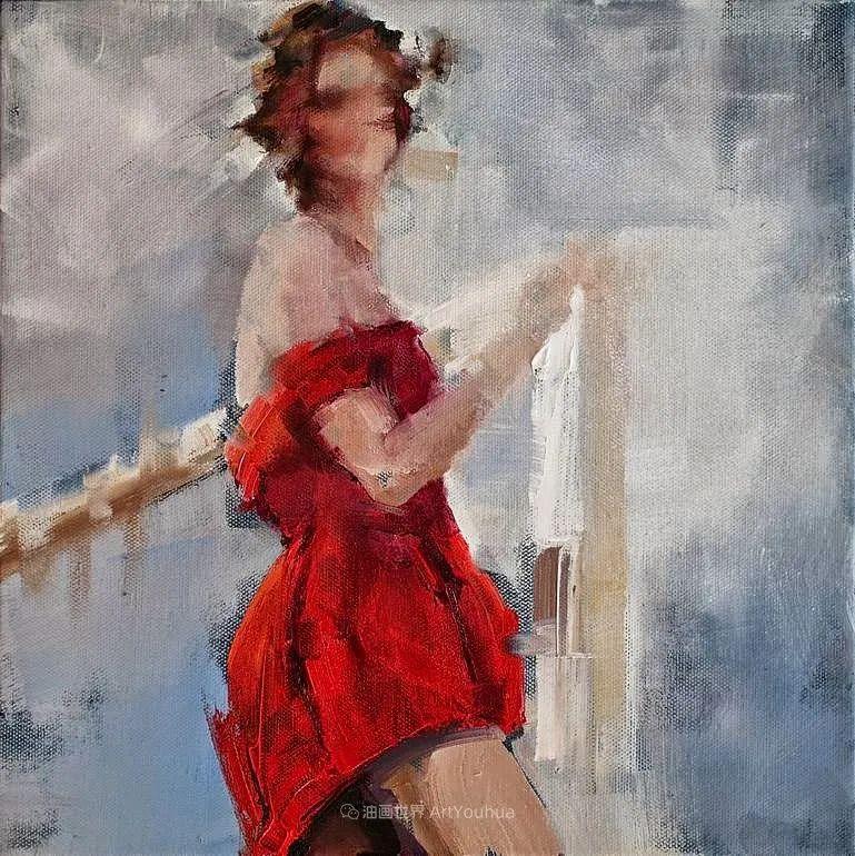 以生动、动感和现代的笔触,描绘女性身体!插图49
