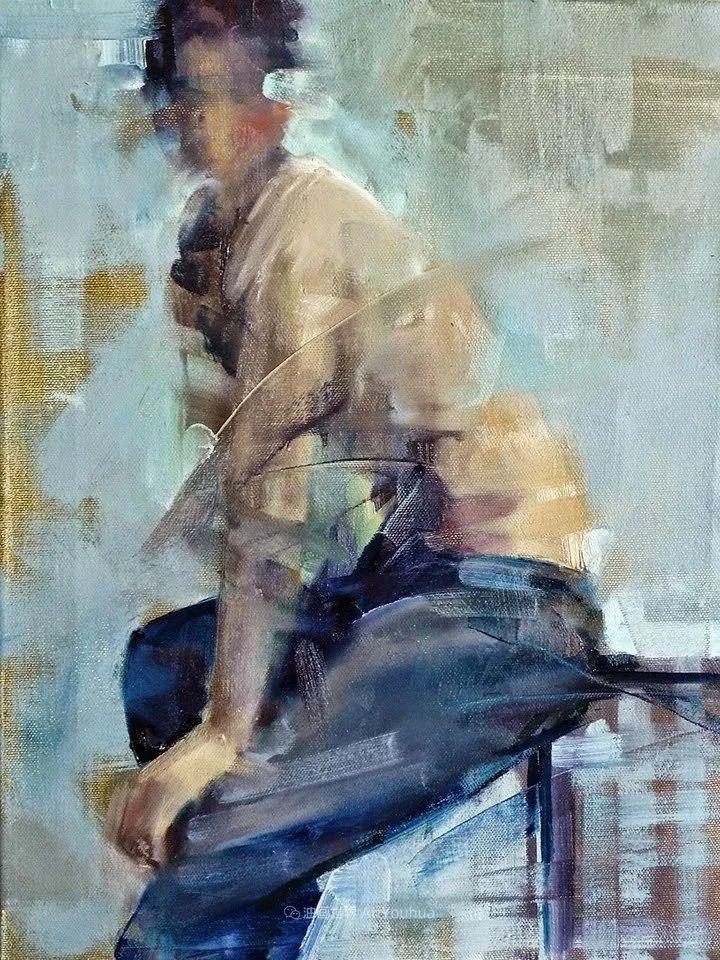 以生动、动感和现代的笔触,描绘女性身体!插图69