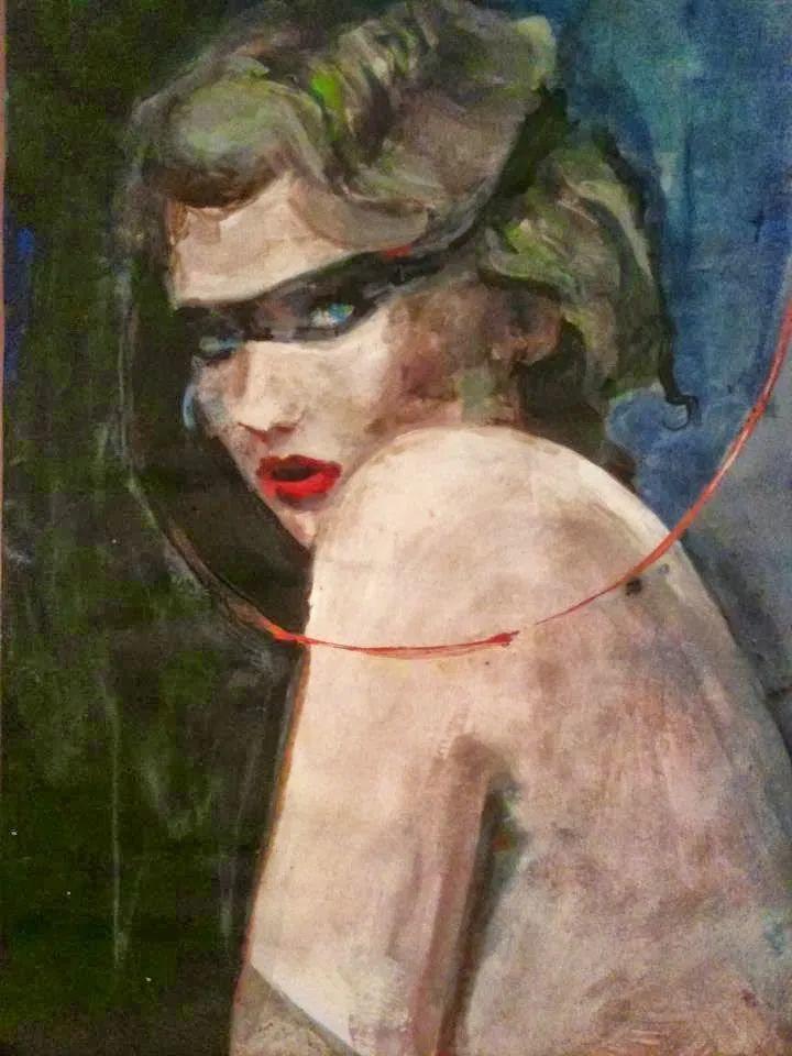 以生动、动感和现代的笔触,描绘女性身体!插图109