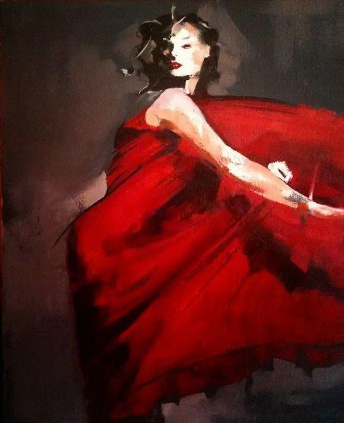 以生动、动感和现代的笔触,描绘女性身体!插图113