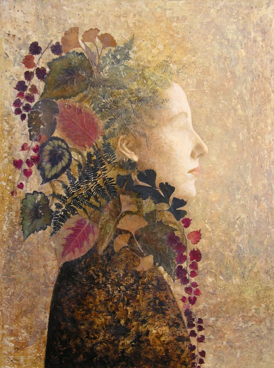 致力于形象表现的具象画家,幽灵般的人物肖像插图5