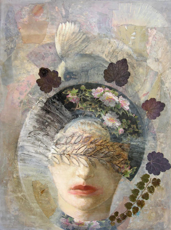 致力于形象表现的具象画家,幽灵般的人物肖像插图7
