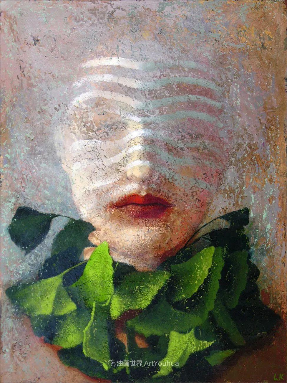 致力于形象表现的具象画家,幽灵般的人物肖像插图17