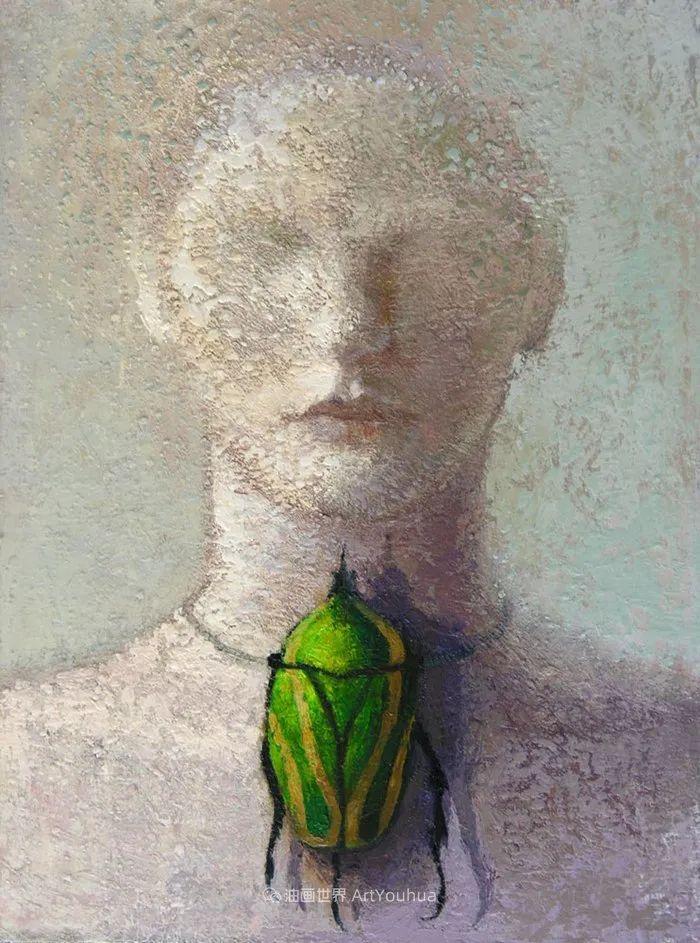 致力于形象表现的具象画家,幽灵般的人物肖像插图19