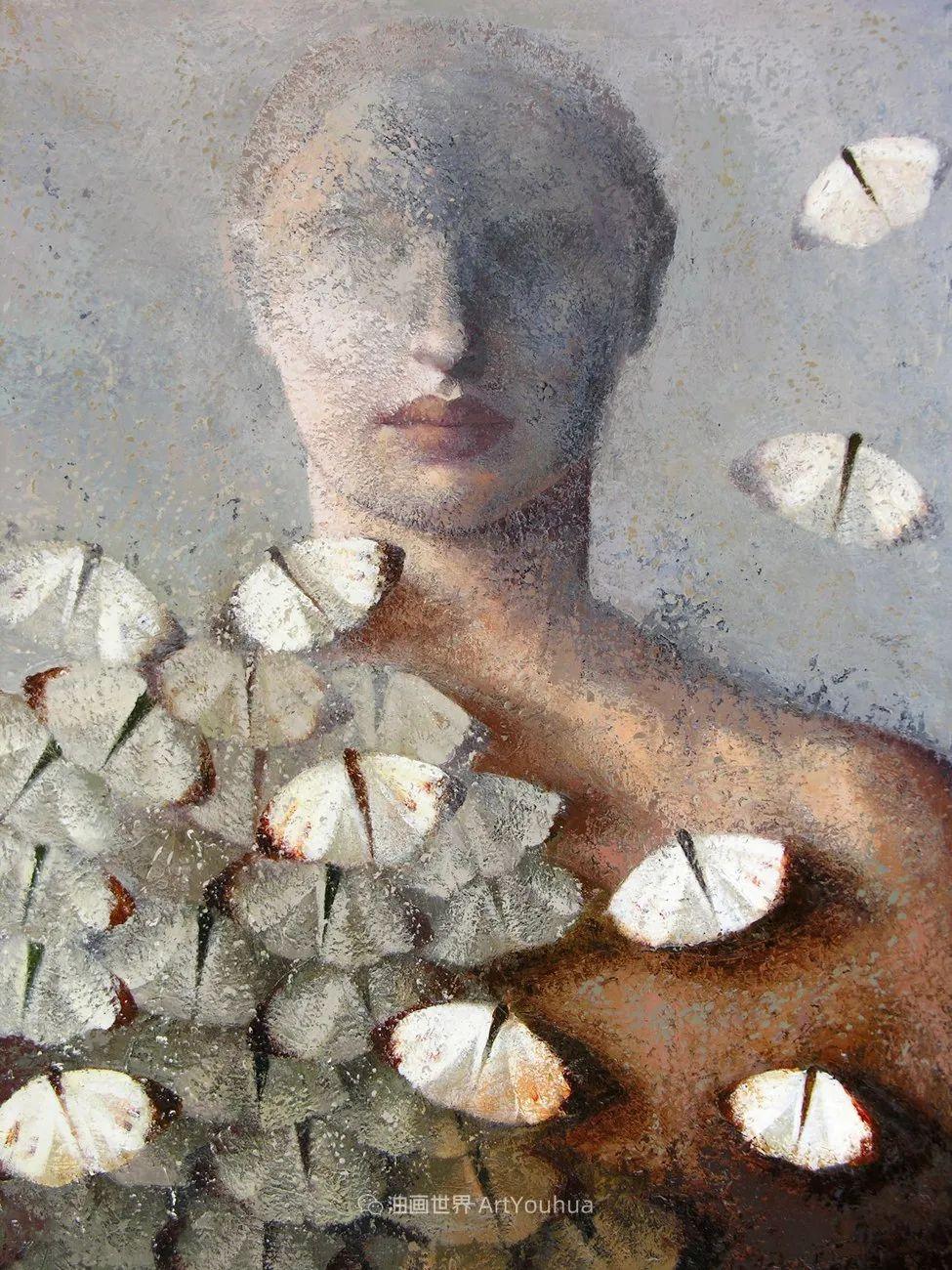 致力于形象表现的具象画家,幽灵般的人物肖像插图23
